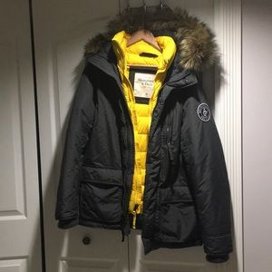 Abercrombie & Fitch winter men's jacket size M